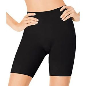 ASSETS SPANX Flipside Mid-Thigh Shaper Bare/Black